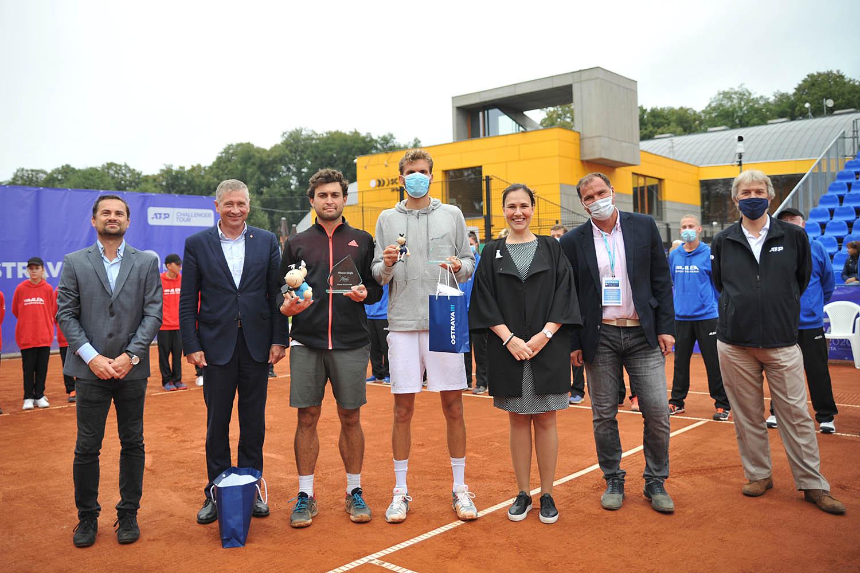 Jsme hlavním partnerem prestižního tenisového turnaje OSTRA GROUP OPEN